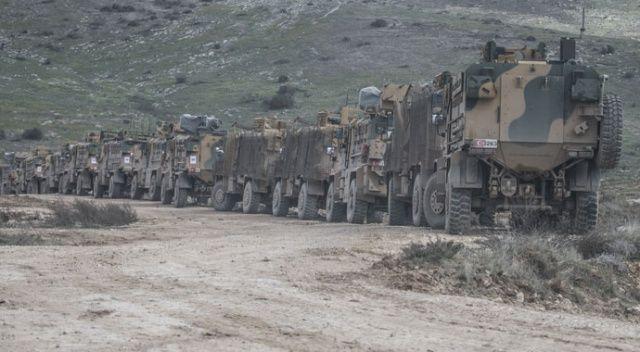 İdlib'deki hain saldırı sonrası sınırda hareketlilik