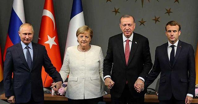 İdlib krizi için liderler devrede