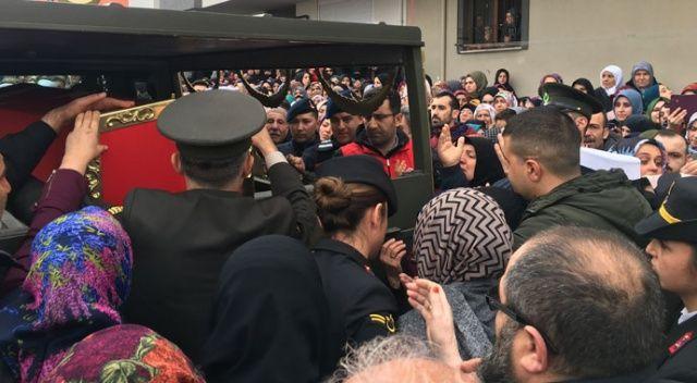İdlib şehidi Uzman Çavuş için baba ocağında helallik alındı