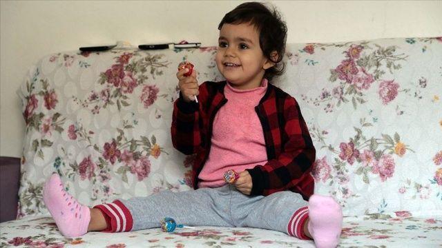 İki yaşındaki Ecem Naz kendisini hayata bağlayacak kalp bekliyor