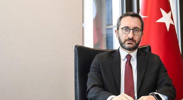 İletişim Başkanı Altun: FETÖ'ye yönelik operasyonların talimatını bizzat Sayın Cumhurbaşkanımız vermiştir