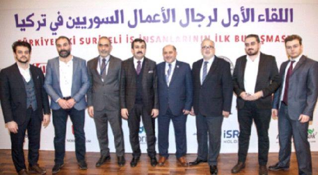 İsra Holding Suriyeli iş insanlarına yeni yatırım modelleri sundu