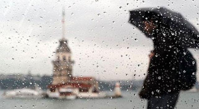 İstanbul'da yağmur bekleniyor!