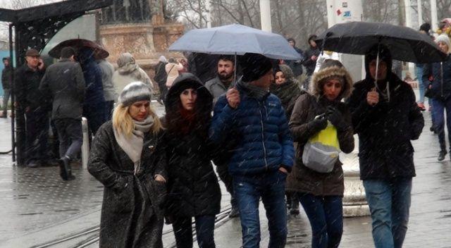 İstanbul'da yağmur etkili olacak