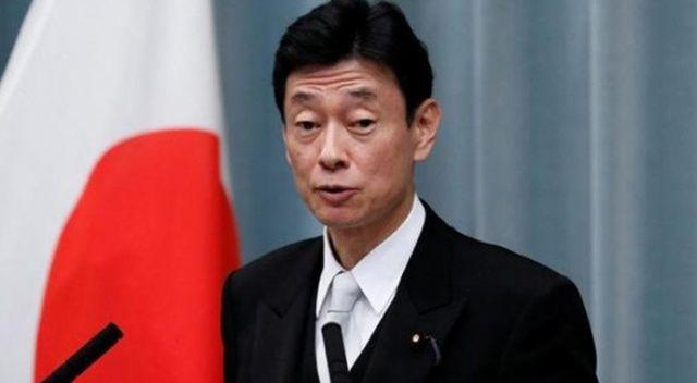 Japonya Ekonomi Bakanı Nishimura'dan korona virüsü mesajı