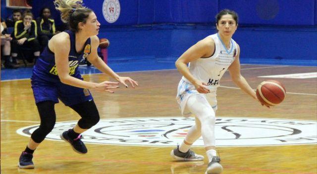 Kadınlar Basketbol Süper Ligi: Hatay Büyükşehir Belediyespor: 60 - Fenerbahçe: 101