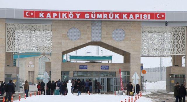 Kapıköy Gümrük Kapısı'na koronavirüse karşı kamera yerleştirildi