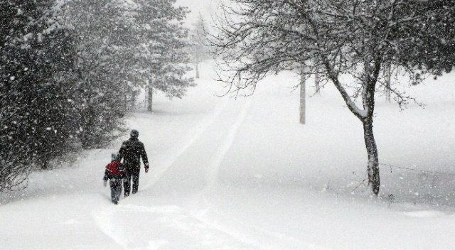 Karabük ve ilçelerinde eğitim ve öğretime kar engeli