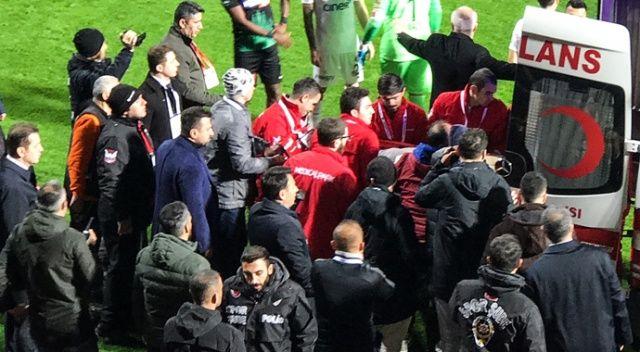 Kasımpaşalı futbolcular Nursal Bilgin için hastanede