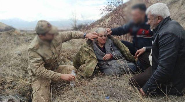 Kayıp yaşlı kadın jandarma ekiplerince bulundu