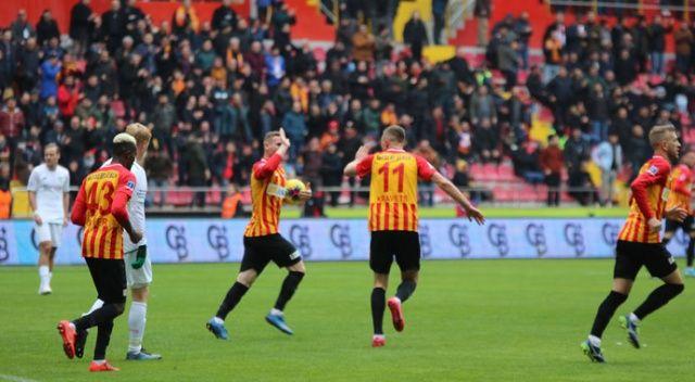 Kayserispor, Konyaspor'dan puanı son anda kurtardı: 2-2