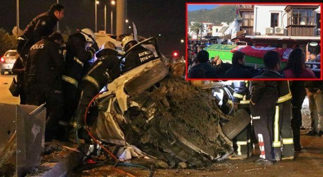 Kaza kurbanı damat Galatasaray formasıyla son yolculuğa uğurlandı