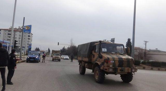 Kilis'ten İdlib'e komando sevkiyatı