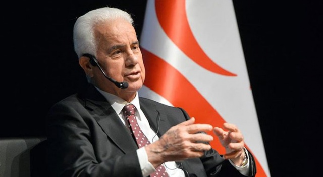 KKTC'nin 3. Cumhurbaşkanı Eroğlu'dan Akıncı'ya tepki: Yanlış ve yaralayıcı sözler