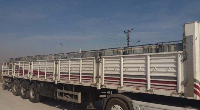 Konya'da 32 bin litre kaçak akaryakıt ele geçirildi