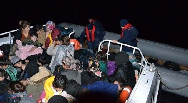 Kuşadası'nda 90 düzensiz göçmen yakalandı