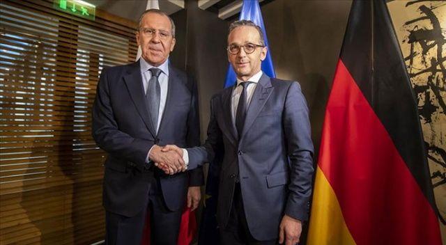 Lavrov ve Maas, Libya krizini görüştü