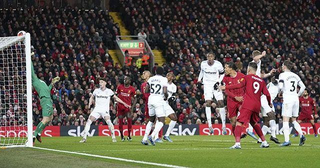 Liverpool, Premier Lig'de üst üste 18. galibiyetini aldı