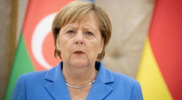 Merkel'den kınama mesajı