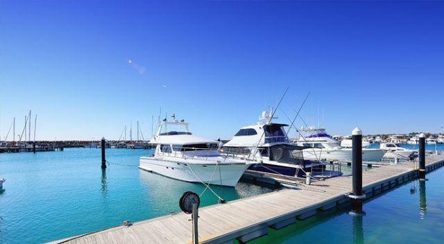 Milyar dolarlık  tekne şovu
