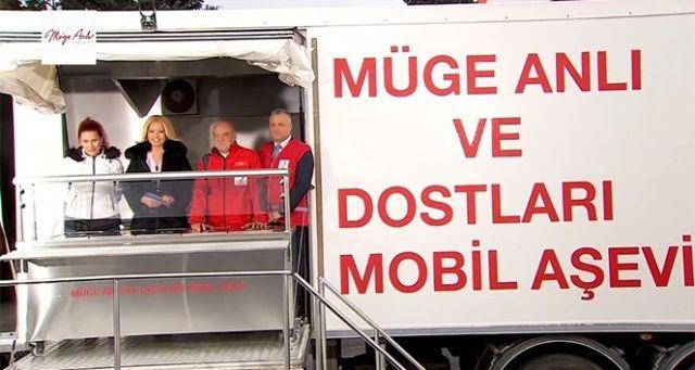 Müge Anlı'dan Elazığ'daki depremzedelere destek
