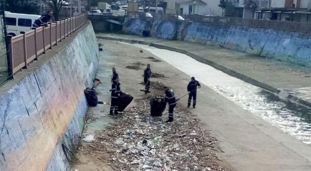 Nüfusu 50 bin, toplanan çöp 80 ton!
