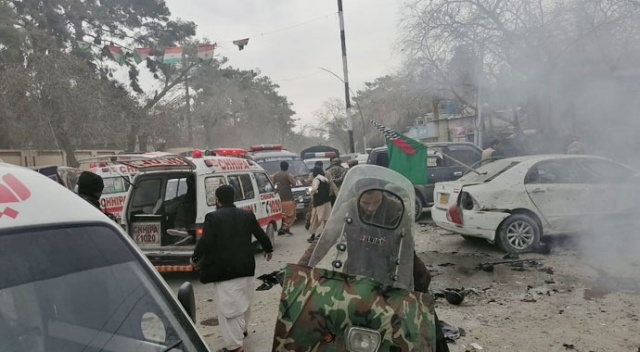 Pakistan'da patlama: 8 ölü, 12 yaralı