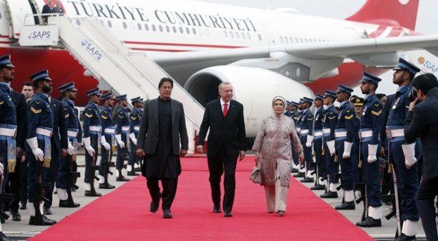 Pakistan Erdoğan'ı coşkuyla kucakladı