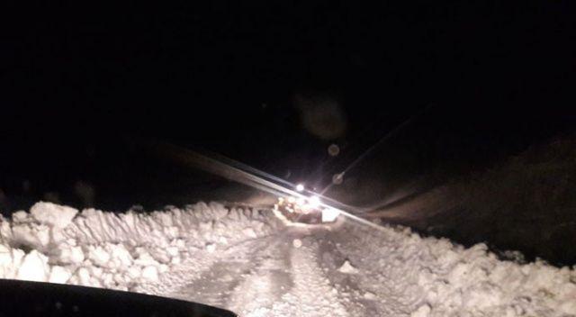 Siirt'te 30 köy yolu ulaşıma...