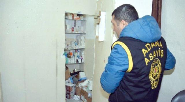 Suriyeliler Adana'da kaçak 'hastane' kurdu