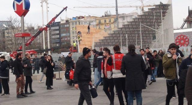 Taksim Meydanı ve İstiklal Caddesi'nde güvenlik uygulaması