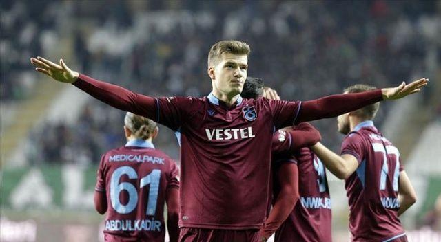 Trabzonspor'un golcüsü Sörloth PFDK'ya sevk edildi
