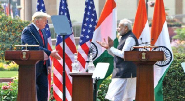 Trump'tan Hindistan'a 3 milyar dolarlık satış