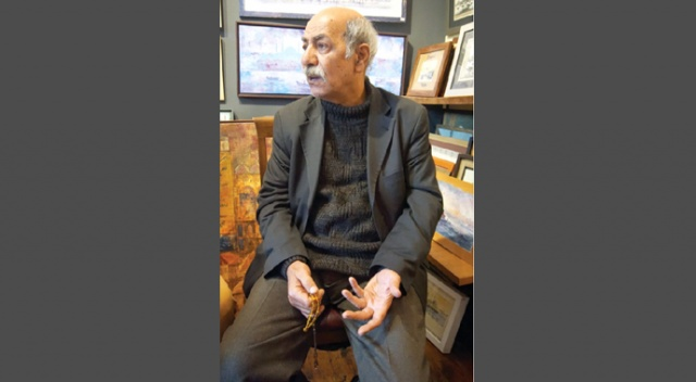 Klasik Türk Sanatları Vakfının ev sahipliğinde Üsküdar Mevlevihanesi'nde İstanbullu sanatseverlerle buluşan sanatçı Fuat Başar, 'Sanatta Edep' başlıklı bir konuşma yaptı.