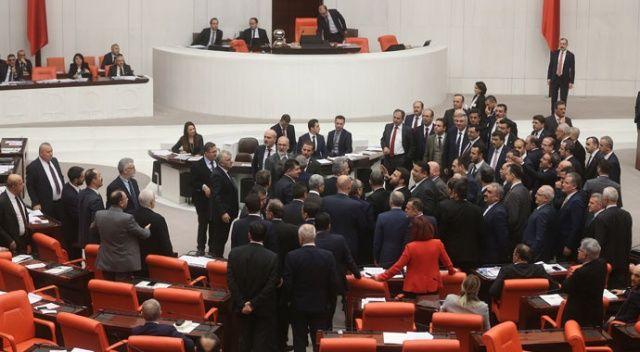 Türkiye Büyük Millet Meclisi'nde gerginlik