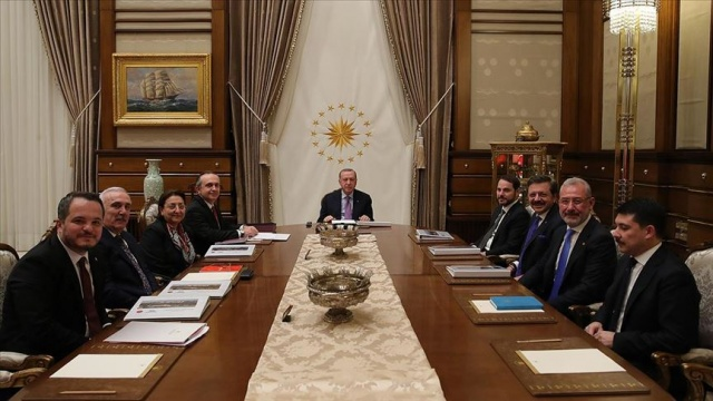 Türkiye Varlık Fonu AŞ Yönetim Kurulu Toplantısı Erdoğan başkanlığında yapıldı