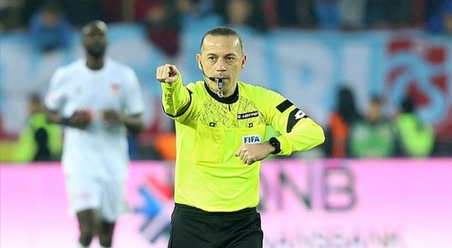 UEFA'dan Cüneyt Çakır'a Şampiyonlar Ligi'nde görev
