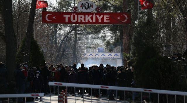 Yunan sınır polisi göçmenlere biber gazı ve ses bombasıyla müdahale etti