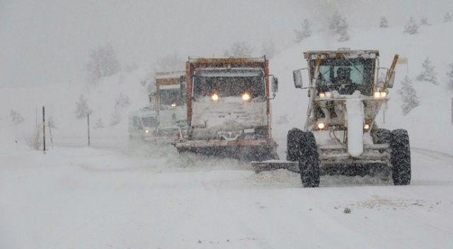 Yurtta soğuk hava ve kar yağışı etkisini sürdürüyor