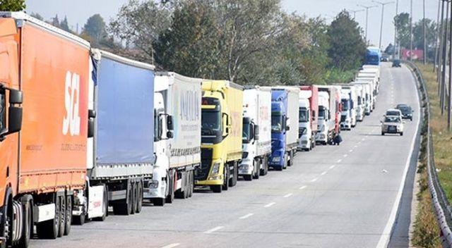 630 şoför transit belgeyle Rusya'dan geçecek