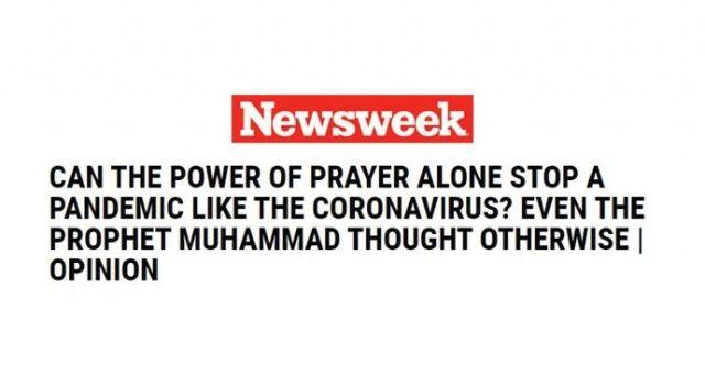 ABD basını koronavirüsle mücadelede Hz. Muhammed'in hadislerini örnek gösterdi