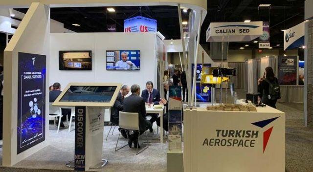 ABD'de uydu fuarında Türkiye rüzgarı