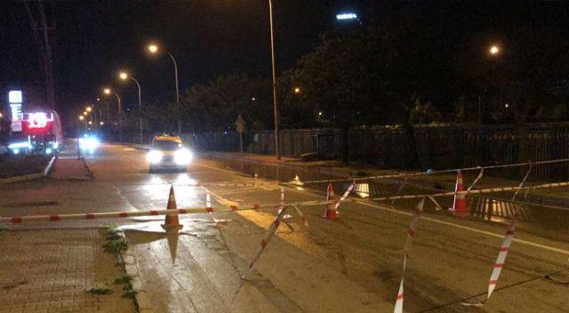 Adana'da içme suyu borusu patladı