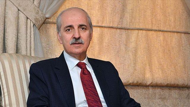 """AK Parti Genel Başkanvekili Kurtulmuş """"Milli Dayanışma Kampanyası""""na 3 maaşını bağışladı"""