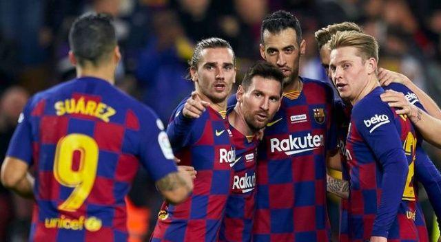 Barcelona, Covid-19 salgını nedeniyle sporcularının maaşlarında kesinti yapma kararı aldı