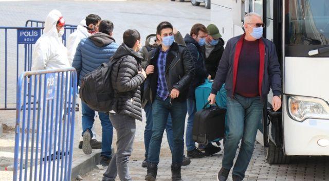 Bolu'da 3 ülkeden gelen 98 kişi karantinaya alındı