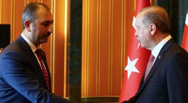 Cumhurbaşkanı Erdoğan, Adalet Bakanı Gül ile görüşecek
