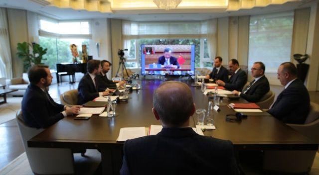 Cumhurbaşkanı Erdoğan'ın video konferansla katıldığı G20 Zirvesi sona erdi