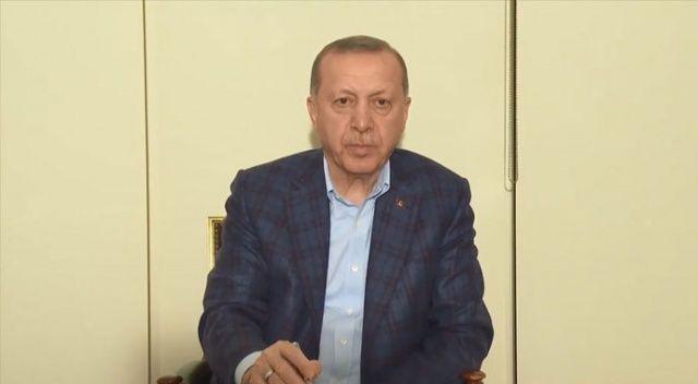 Cumhurbaşkanı Erdoğan: Kurallara uyalım evimizde kalalım