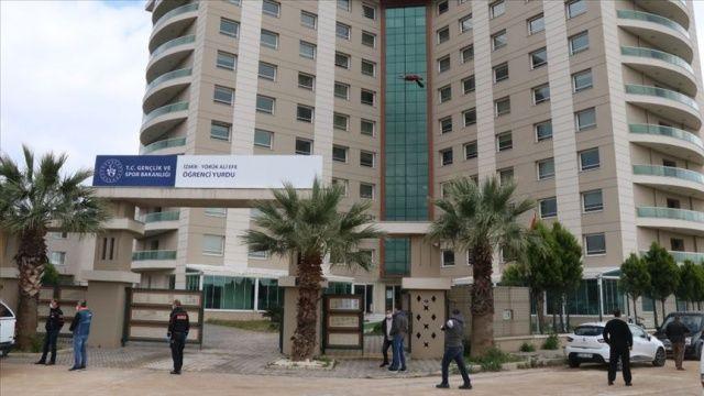 Etiyopya'dan getirilen 131 kişi, İzmir'deki yurtta karantinaya alındı